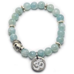 Aquamarine special titanium buddha
