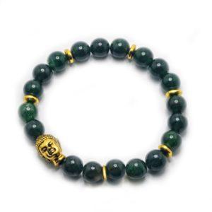 dark-aventurine-bracelet-buddha-gold